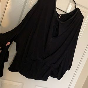 NWT free people twist front top
